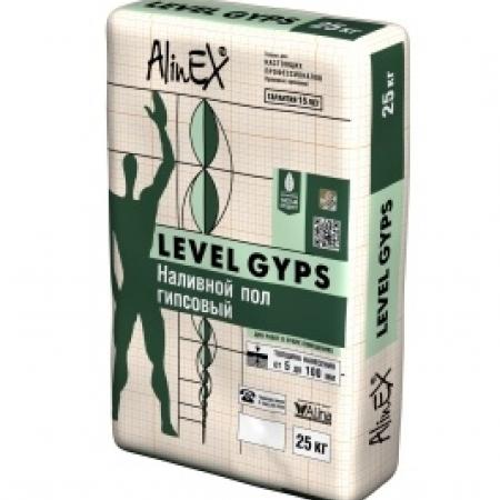 """Наливной пол гипсовый """"LEVEL GYPS"""" 25 кг."""