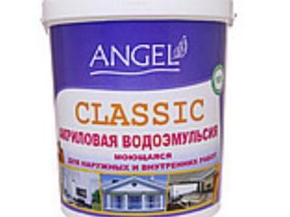 Водоэмульсия ANGEL CLASSIC  (для стен и потолков моющаяся)