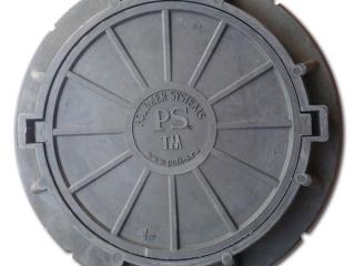 """Люк ПП 640/870/600/80 тип """"ТМ"""", 25 тн, с запорным устройством, вес 71 кг"""