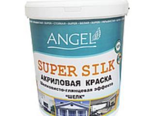 Водоэмульсия ANGEL SUPER SILK (для  внутренних и наружних работ, шелковисто-глянцевая)